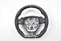 100% Real Carbon Fiber Car Steering Wheel For BMW F10 F11 5 6 7 Series