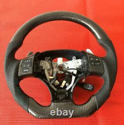 100% Real Carbon Fiber Steering Wheel For 2006-2011 Lexus IS ISF