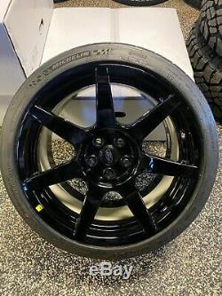 19x11 19x11.5 Mustang GT350R Carbon Fiber OEM Wheel Rim Tire