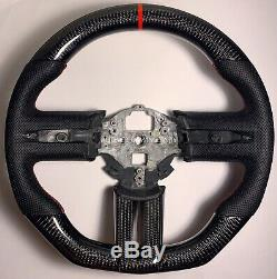 2005-2009 Ford Mustang Carbon Fiber GT500 Steering Wheel