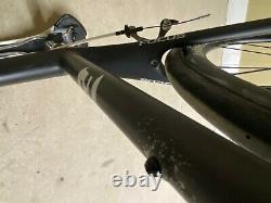 2011 Focus Cayo Carbon Di2 Road Bike Shimano Ultegra IMPECCABLE Carbon wheels