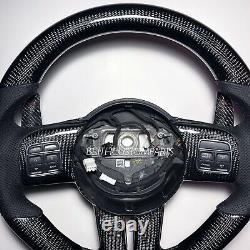 2012-2014 Dodge Charger / Jeep Cherokee Srt8 Carbon Fiber Steering Wheel