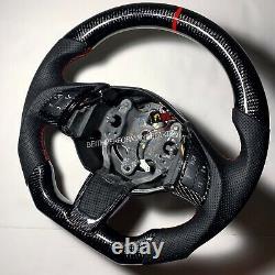 2012-2017 Fiat 500 Abarth Carbon Fiber Steering Wheel