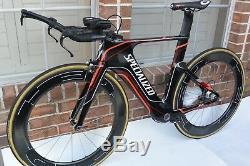 2012 Specialized Shiv Pro Shimano 11 Speed Carbon 51cm Triathlon Bike(NO WHEELS)