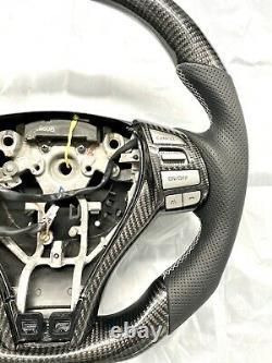 2014-2018 Nissan Altima Real Carbon fiber steering wheel