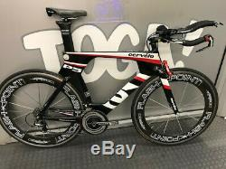 2014 Cervelo P5 56cm Dura Ace 10 Speed Flashpoint Carbon Wheels Used