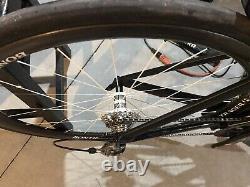 2014 Trek Speed Concept 9.9 Tri Bike, SRAM Aeolus 3 Wheels