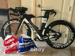 2015 Felt IA10 Ultegra Di2 Carbon TT/Triathlon Bike, 48cm with2 set carbon wheels