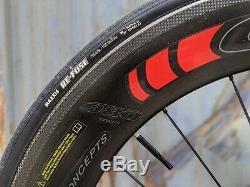 2015 Fuji Norcom Straight 2.1 Time Trial Triathlon bike withcarbon wheels & bar
