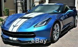 2016 Chevrolet Corvette Coupe Z51 3LT Z06 Wheels 500HP