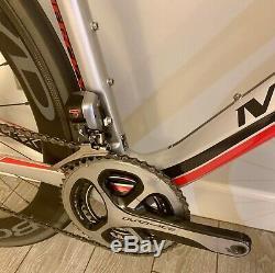 2016 Eddy Merckx San Remo 76 Carbon Road Bike Size 55cm-Boyd Carbon Wheels/Di2