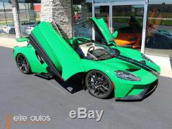 2017 Ford Ford GT 1 of 1 Atlas Green Exterior ONLY 500 MILES Carbon Fiber Wheels