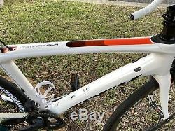 2017 Trek Domane SLR 7 Road Bike, Di2, 52cm, Upgraded Aeolus Pro 5 Carbon Wheels