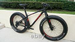 2017 Trek Farley 9.9 FAT Bike Carbon HED Wheels