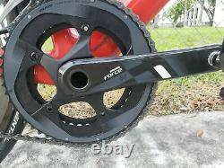 2018 BMC Teammachine SLR01 Sram Red eTAP Zipp Wheels 58cm Low Miles