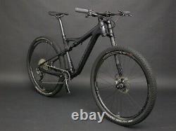 2018 Cannondale Scalpel Mountain Bike Medium XTR Di2 ENVE Carbon Wheels 23.75lbs