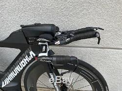 2018 Diamondback Andean Triathlon bike Size Small 50 Ultegra, HED carbon wheels