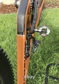 2018 Santa Cruz Tallboy Carbon CC 29 Sram X01 Eagle Reserve Wheels. Barely used
