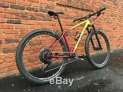 2018 Specialized Epic Hardtail Expert Medium NEW FULL WARRANTY Carbon Wheels
