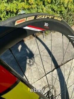 2019 LOOK 785 Huez Disc SRAM Red Etap, small 11x2, lightly used, new ZIPP wheels