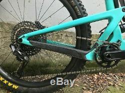 2019 Santa Cruz Bronson Carbon C S Size Medium Blue Carbon Reserve wheels