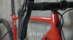 2019 Specialized Allez Sprint Disc Ultegra Di2 3T Carbon wheels. Frame damage