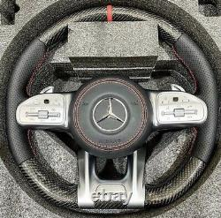 2020 Mercedes Amg For 2003-2012 G550 G55 Amg Carbon Fiber Piano Steering Wheel