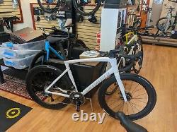 2021 Specialized Tarmac Sl7, 58cm, clx64 wheels, Dura Ace/Ult Di2, White