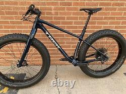 2021 Trek Farley Large Fat Bike GX Bontrager Wampa Carbon Wheels 9.6 9.8 9.9