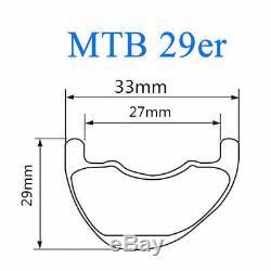 29 carbon asymmetric mtb wheelset 33 width carbon wheels 15100 12142 Sram XD