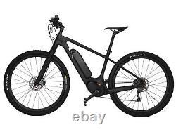 29er E Bike 18 carbon frame fork MTB motor wheel Electric Shimano UD matt