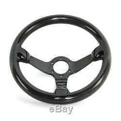300MM 6 Bolts Racing Steering Wheel 100% Carbon Fiber New Arrival Best Quality