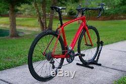 56 cm 2017 Trek Domane SL6 Pro Carbon Wheels 16 lbs