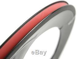 700C 70mm Clincher Road Bike Tri Spoke Carbon Wheels Front Road Carbon Wheelset