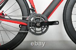 AERO Road Bike Disc brake carbon frame carbon wheels 700C race full bicycle