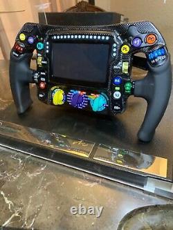 Amalgam Mercedes F1 W09 11 carbon fiber formula one steering wheel new Lewis H