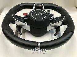 Audi 2018 AUDI TT RS R8 Quattro S-line Alcantara Carbon Custom Steering wheel