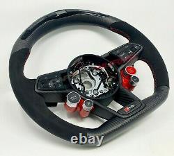 Audi R8 Gen 2 LED Carbon Fibre Steering Wheel Customisable Options 2016 V10+