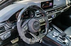 Audi R8, TTRS, RS3, RS6 RSQ3 Carbon Fibre LED Rev Counter Display Steering Wheel