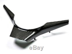 AutoTecknic Carbon Fiber Steering Wheel Trim Fits BMW E60 M5 E63/ E64 M6