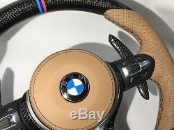 BMW 2019 Design M Performance F Series Carbon Fiber Steering Wheel