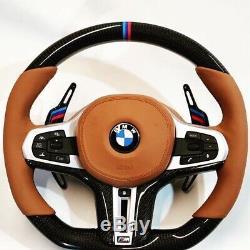 BMW 2019 M Performance F90 G01 G02 G11 G12 G30 G31 Fiber Carbon Steering Wheel