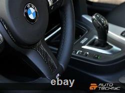 BMW Carbon Fiber Steering Wheel Trim F30 F31 F32 F06 F12 F13 M-Sport F15 X5