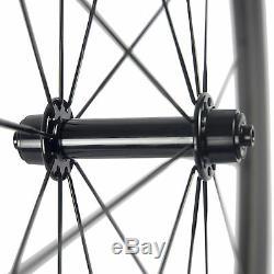 Basalt Brake Surface 38mm Clincher Carbon Wheelset Matt Road Bike Carbon Wheels
