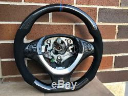 Bmw E70 X5 X6 E71 carbon Fiber Gt spec Alcantara steering wheel Sydney Stock