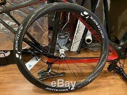 Bontrager Aeolus 5 Tubeless Carbon Fiber Clincher Road Wheel Set, SL Tubes 50mm