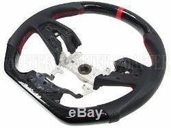 Buddy Club Carbon Fiber Sport Steering Wheel for 17-19 Honda Civic Type-R FK8