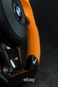CUSTOM BMW E60 M5 E63 E64 M6 Performance Steering Wheel Carbon Fiber SMG