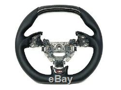 CUSTOM Carbon Fiber Steering Wheel For 2006-2008 Acura TL Type S with Paddles