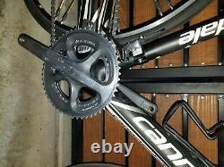 Cannondale supersix carbon, 54cm, Dura ace drive train, topolino wheels, 2012